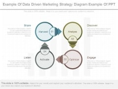 Example Of Data Driven Marketing Strategy Diagram Example Of Ppt