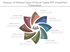Example Of Different Types Of Social Capital Ppt Powerpoint Presentation