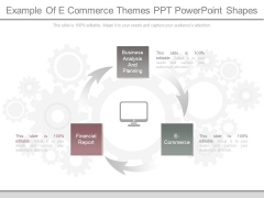 Example Of E Commerce Themes Ppt Powerpoint Shapes