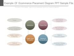 Example Of Ecommerce Placement Diagram Ppt Sample File