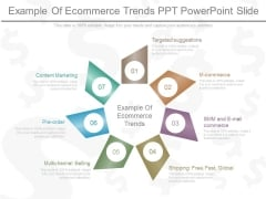 Example Of Ecommerce Trends Ppt Powerpoint Slide