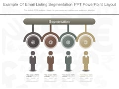 Example Of Email Listing Segmentation Ppt Powerpoint Layout