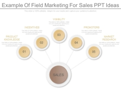Example Of Field Marketing For Sales Ppt Ideas