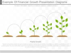Example Of Financial Growth Presentation Diagrams