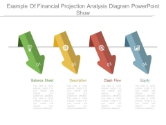 Example Of Financial Projection Analysis Diagram Powerpoint Show