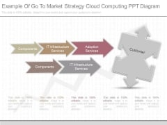 Example Of Go To Market Strategy Cloud Computing Ppt Diagram