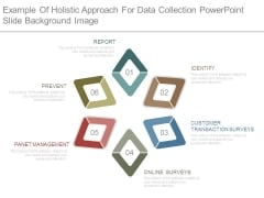 Example Of Holistic Approach For Data Collection Powerpoint Slide Background Image
