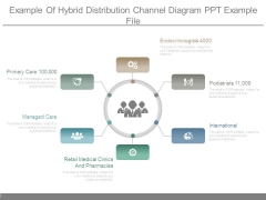 Example Of Hybrid Distribution Channel Diagram Ppt Example File