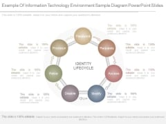 Example Of Information Technology Environment Sample Diagram Powerpoint Slides