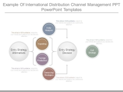 Example Of International Distribution Channel Management Ppt Powerpoint Templates