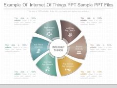 Example Of Internet Of Things Ppt Sample Ppt Files
