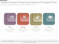 Example Of Internet Of Things Security Problems Ppt Sample Ppt Files