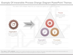Example Of Irreversible Process Change Diagram Powerpoint Themes