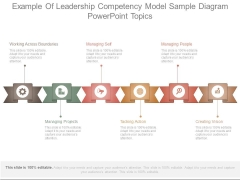 Example Of Leadership Competency Model Sample Diagram Powerpoint Topics