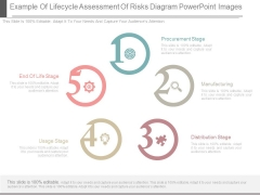 Example Of Lifecycle Assessment Of Risks Diagram Powerpoint Images