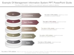 Example Of Management Information System Ppt Powerpoint Guide