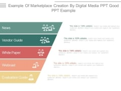 Example Of Marketplace Creation By Digital Media Ppt Good Ppt Example