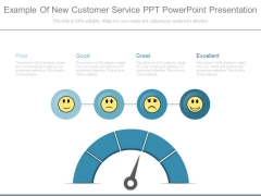 Example Of New Customer Service Ppt Powerpoint Presentation