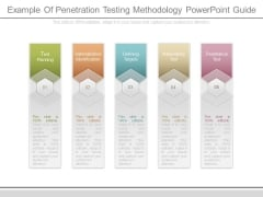 Example Of Penetration Testing Methodology Powerpoint Guide