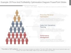 Example Of Price And Profitability Optimization Diagram Powerpoint Slides