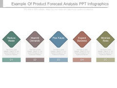 Example Of Product Forecast Analysis Ppt Infographics