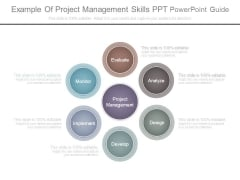 Example Of Project Management Skills Ppt Powerpoint Guide