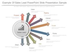 Example Of Sales Lead Powerpoint Slide Presentation Sample