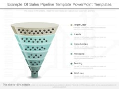 Example Of Sales Pipeline Template Powerpoint Templates
