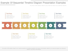 Example Of Sequential Timeline Diagram Presentation Examples