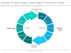 Example Of Serial Supply Chain Diagram Powerpoint Guide