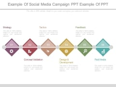 Example Of Social Media Campaign Ppt Example Of Ppt