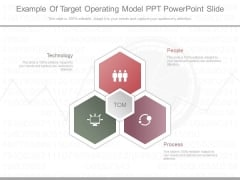 Example Of Target Operating Model Ppt Powerpoint Slide