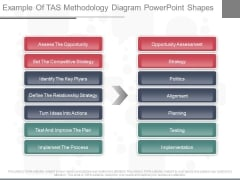 Example Of Tas Methodology Diagram Powerpoint Shapes