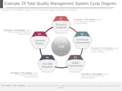 Example Of Total Quality Management System Cycle Diagram