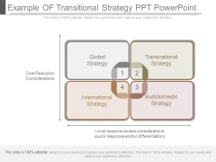 Example Of Transitional Strategy Ppt Powerpoint
