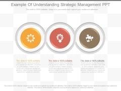 Example Of Understanding Strategic Management Ppt