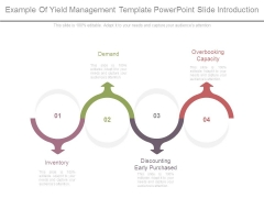 Example Of Yield Management Template Powerpoint Slide Introduction