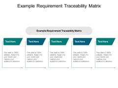 Example Requirement Traceability Matrix Ppt PowerPoint Presentation File Visual Aids Cpb Pdf