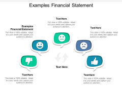Examples Financial Statement Ppt PowerPoint Presentation Infographics Professional