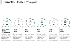 Examples Goals For Employees Ppt PowerPoint Presentation Inspiration Diagrams Cpb