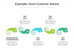 Examples Good Customer Service Ppt PowerPoint Presentation Outline Images Cpb