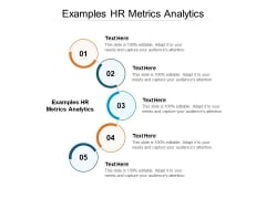Examples HR Metrics Analytics Ppt PowerPoint Presentation Ideas Influencers Cpb