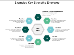 Examples Key Strengths Employee Ppt PowerPoint Presentation Summary Gridlines Cpb