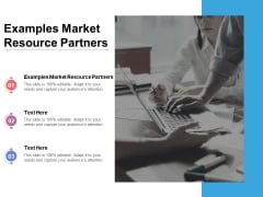 Examples Market Resource Partners Ppt PowerPoint Presentation Styles Objects Cpb Pdf