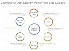 Examples Of Debt Diagram Powerpoint Slide Designs