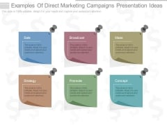 Examples Of Direct Marketing Campaigns Presentation Ideas