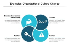 Examples Organizational Culture Change Ppt PowerPoint Presentation Gallery Visual Aids Cpb