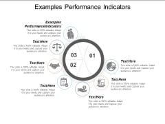 Examples Performance Indicators Ppt PowerPoint Presentation Portfolio Designs Cpb