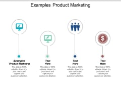 Examples Product Marketing Ppt Powerpoint Presentation Outline Information Cpb