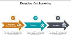 Examples Viral Marketing Ppt PowerPoint Presentation Outline Deck Cpb